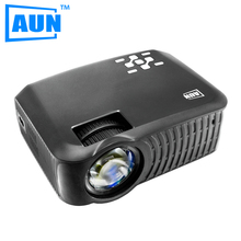 AUN T30P 1280*720 LED Proyector 2200 Lúmenes Proyector Incorporado Android 4.4 WIFI Bluetooth Apoyo DLAN Airplay Smart Beamer