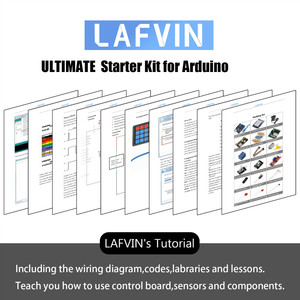 Image 3 - LAFVIN for UNO R3 Project Complete Starter Kit with Tutorial for Arduino