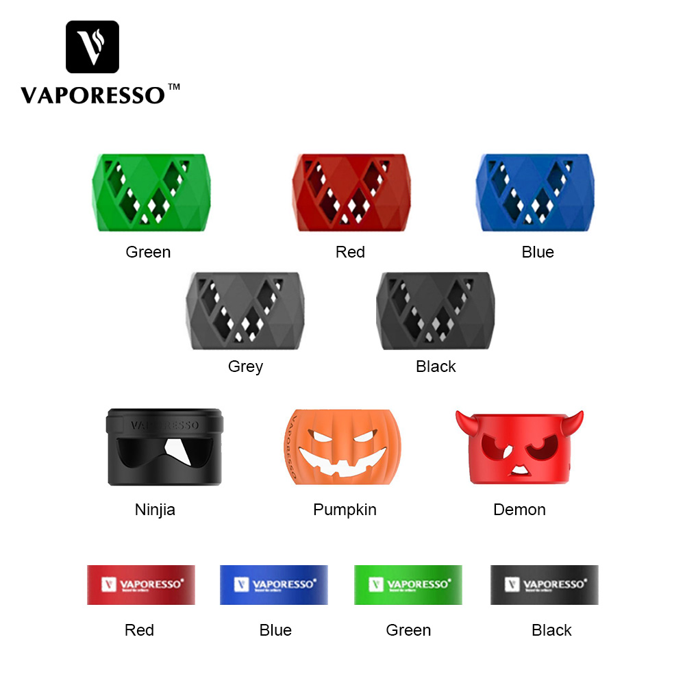 New Original Vaporesso SKRR Tank Replacement Silicone Case For SKRR Sub Ohm Tank/Vaporesso Luxe Kit Protection Band Accessories