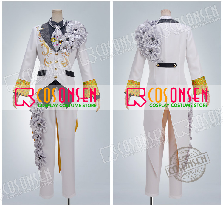 Image 3 - Anime Idolish7 OP Nagi Rokuya WiSH VOYAGE Cosplay Costume new Full Set All Sizes COSPLAYONSEN adult costume-in Game Costumes from Novelty & Special Use