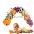 Pés de brinquedo educativo Musical Inchworm Musical Popular com altura régua brinquedos de pelúcia LM-01
