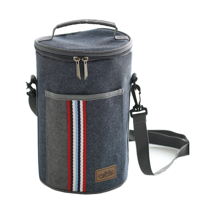 Oxford Thermal Shoulder Lunch Bag Tote Women Kid's Portable Insulated Cooler Thermo Bag Leisure Accessory Supply Products Stuff shoulder lunch bag tote women kids thermal insulated cooler storage picnic food drink bento box accessory supply products stuff