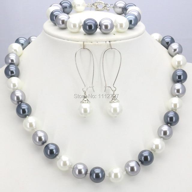 17d743282e5b Caliente Adornos regalos para mujeres Niñas 10mm naranja ronda perla de  cristal Cuentas collar pulsera Pendientes