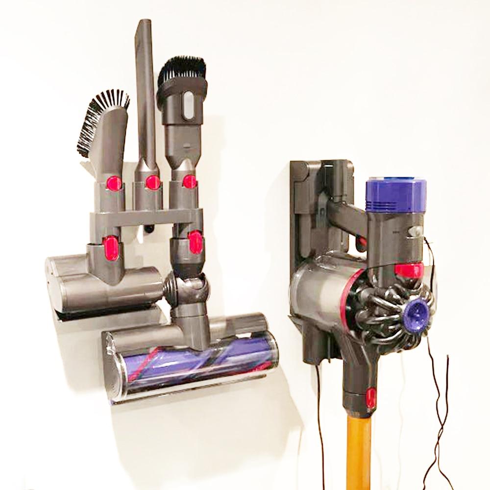 Storage Holder Bracket for Dyson V7 V8 V10 V11 Absolute Brush Tool Base Stand Vacuum Cleaner Nozzle Base Holder Docks Station