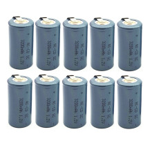 10pcs 3200mah SC 1.2V high quality Ni-CD Battery Sub C 22420 with an Extension Cord Processed into Tools Pack