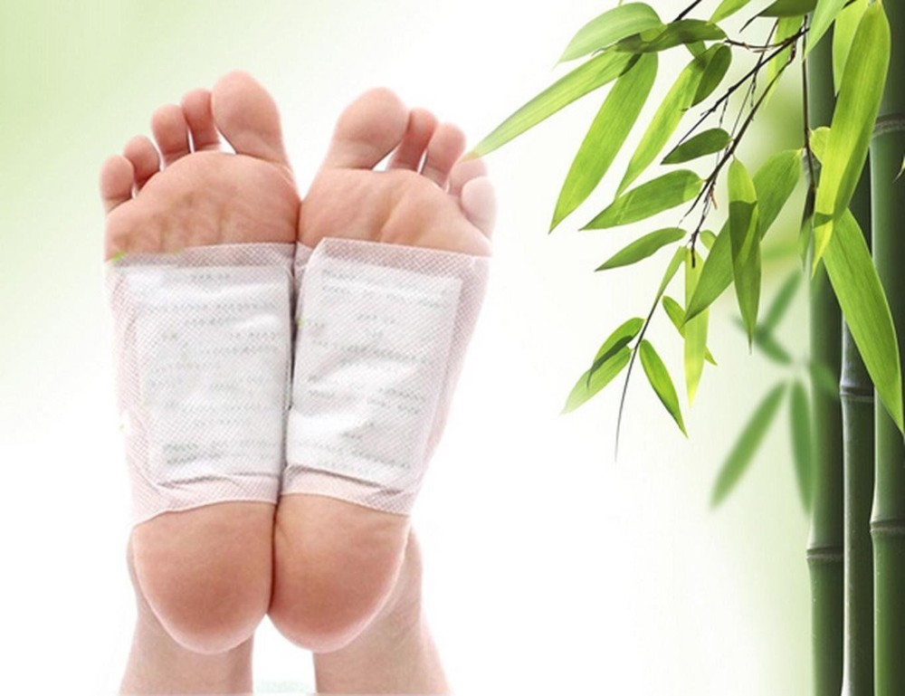 Foot Detox Patches/Pads Cleansing Body Toxins Slimming Herbal (20pcs=10pcs Patches+10pcs Adhesives) 9
