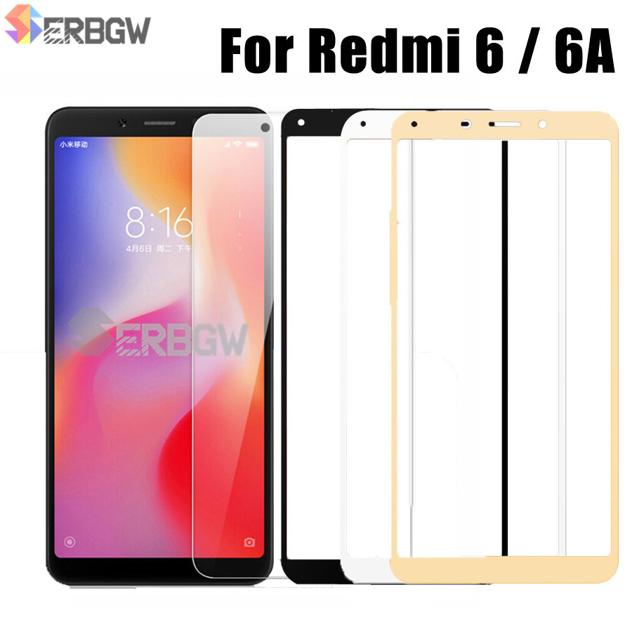 5.45 Inch Glass For Xiaomi Redmi 6 6A Screen Protector 2.5D 9H Tempered Glass For Xiaomi Redmi6 A Glass Redmi6A Protective Film