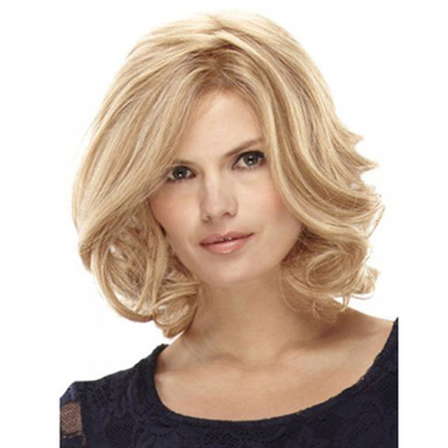 GRACEFUL 40cm Hair wig Temperament Ladies Fashion Messy Short Paragraph Ms. Wigs peluca de pelo OCT25