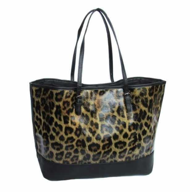 289652148e1 Leopard Print Handbags Women Large Capacity Ladies High Quality Shoulder  Bags Famous Brand Big Tote Satchel