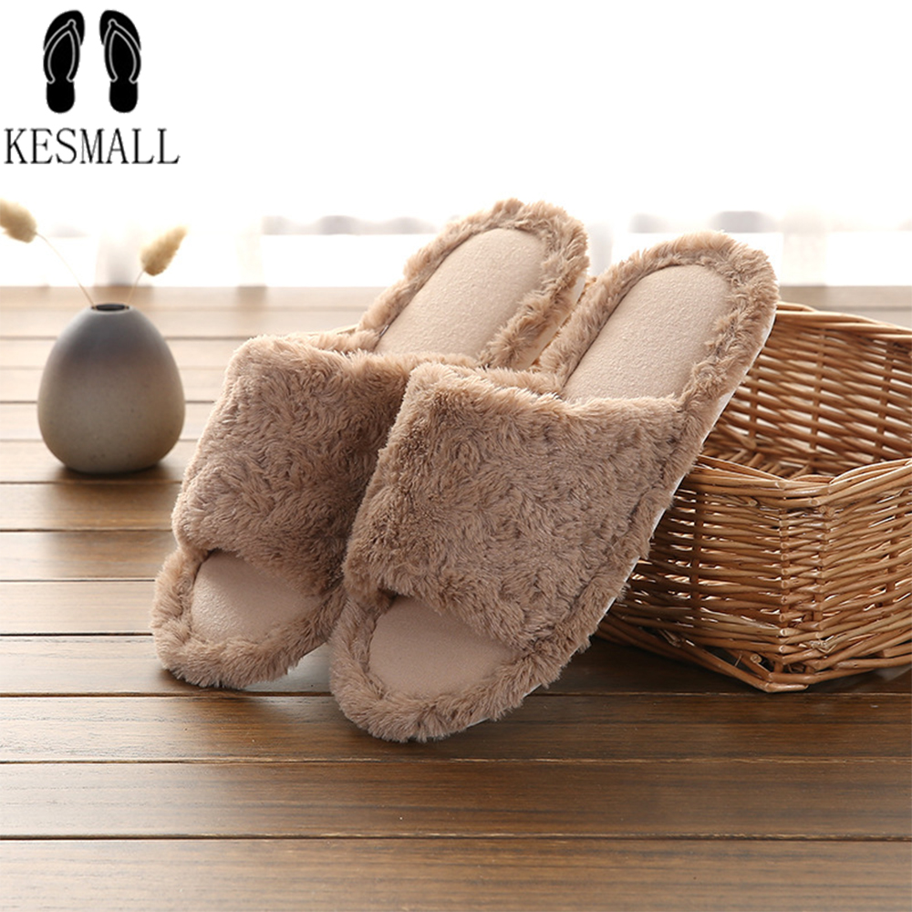 Famous Brand Fur Flip Flops Sweet Lace Bow Fur Slides Women Designer Winter Sandals Warm Cozy Home Slippers With Flower WS331 2018 women fur slippers luxury real fox fur beach sandal shoes fluffy comfy furry flip flops