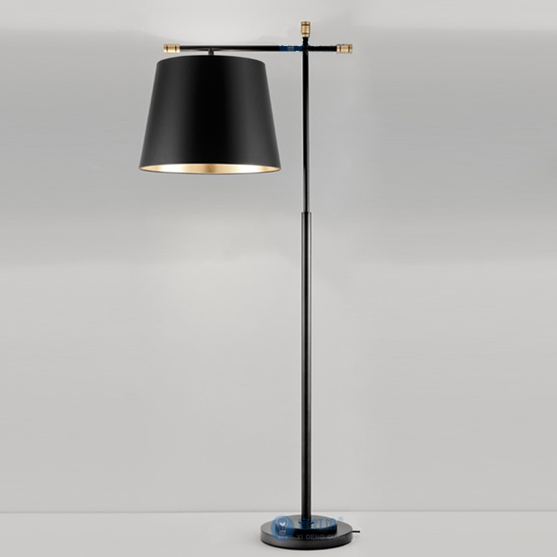 After the modern creative personality iron Floor Lamps Nordic simple living room bedroom study villas lamps model room LU25229|floor lamp nordic|floor lamp|iron floor lamps - title=