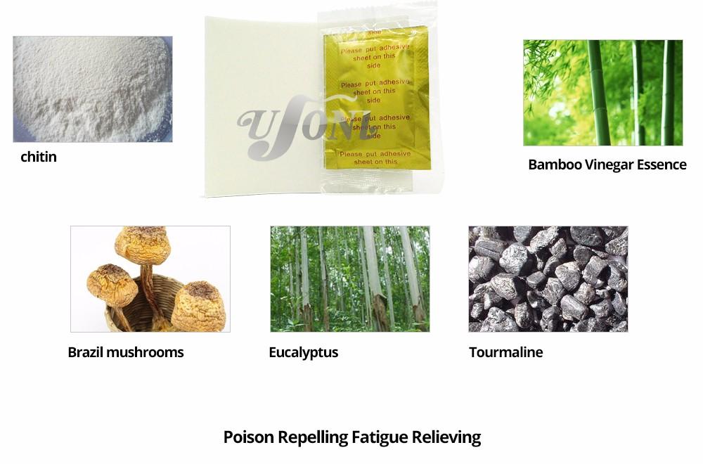 Retail box GOLD Premium Kinoki Detox Foot Pads Cleanse Energize Your Body(1lot=10Box=0pcs=100pcs Patches+100pcs Adhesive) 17 11