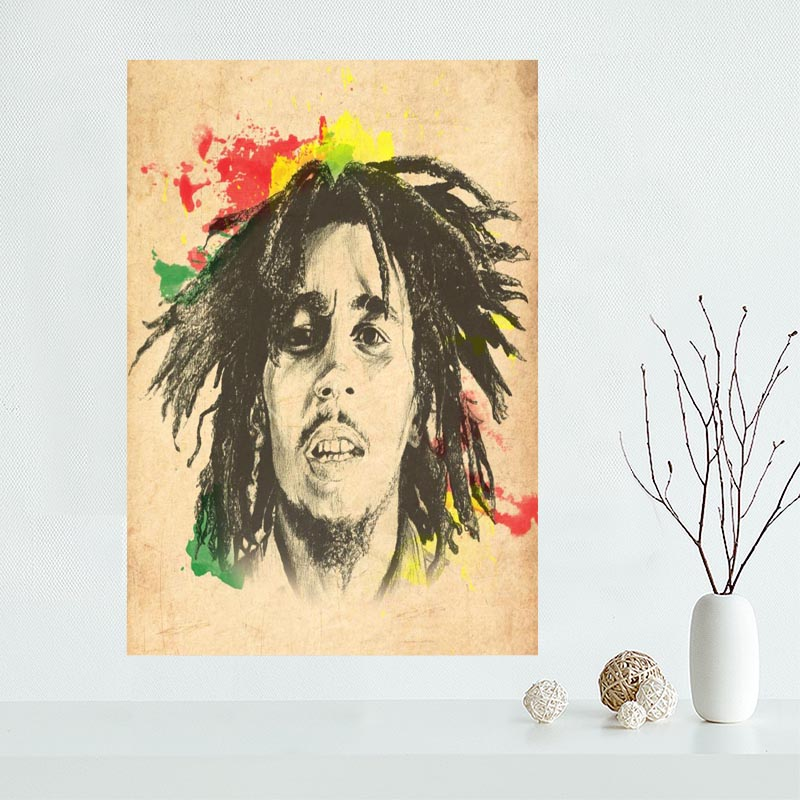 Fine Bob Marley Canvas Wall Art Image - Wall Art Collections ...