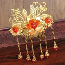 The Bride Wedding Jewelry Costume Dress hair tassel headdress hairpin classic Coronet