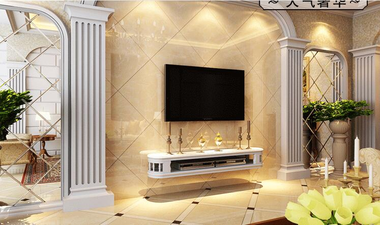 Купить с кэшбэком Europe type hanging TV ark. Contracted sitting room wall. The TV cabinet.