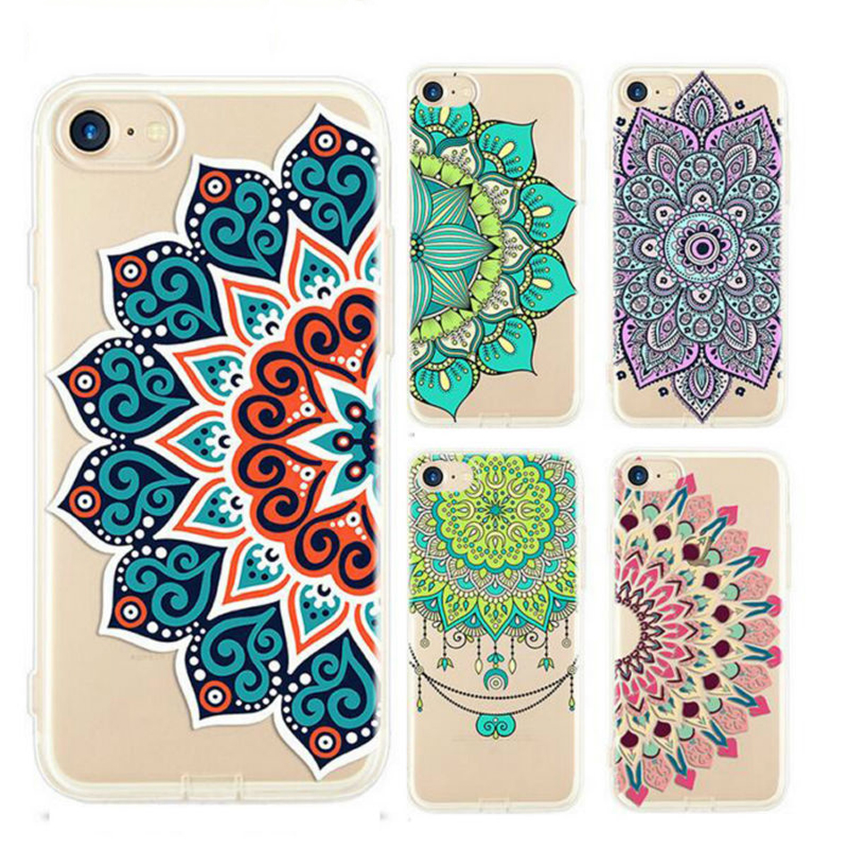 Datura-Flower-Pattern-Phone-Cases-for-iPhone-5-5S-SE-6-6S-7-Plus-Soft-Silicon (9)