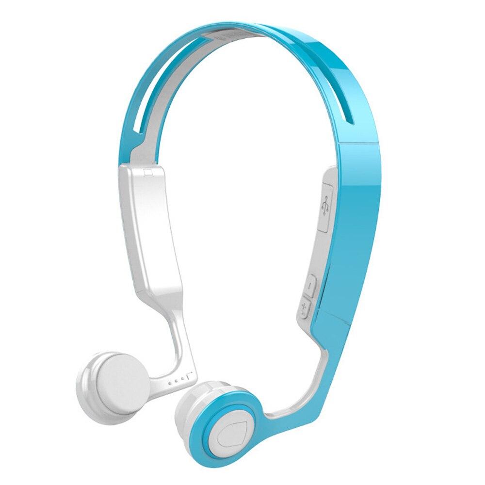 Conduction osseuse Sans Fil Bluetooth Stéréo Casque Sport Bluetooth courroie de Cou Écouteur Mains Libres Pour SmartPhone Fonctionnant