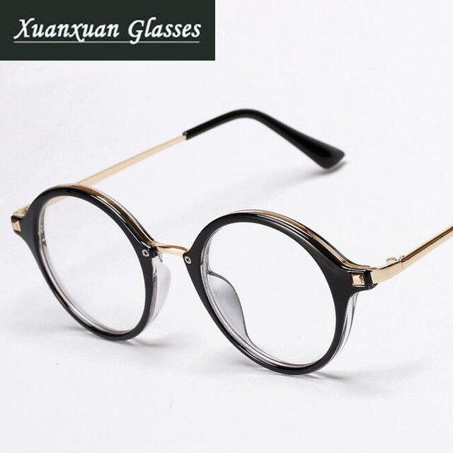 Fashion Vintage Designer Glasses Men 2016 Round Eyeglasses Women ...