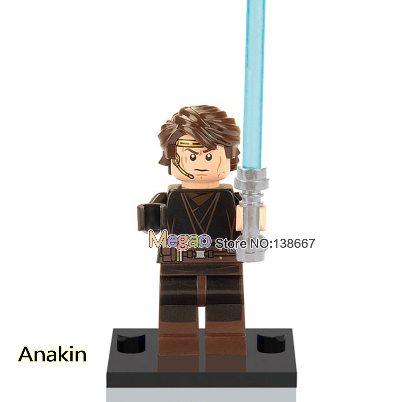 Ingenious Single Sale Star Wars Anakin Xh333 R2-d2 R4-p17 Luke Anakin Action Legoing Building Blocks Education Model Toys Bricks Children With Traditional Methods Blocks Model Building