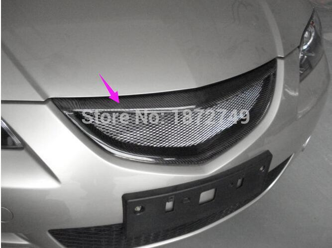 2003-2008 pour Mazda 3 calandre en acier inoxydable de haute qualité