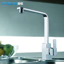 Pu постоянной pasun меди свинца Кухня Раковина кран 360 градусов вращения промежуточным коснитесь PHL032