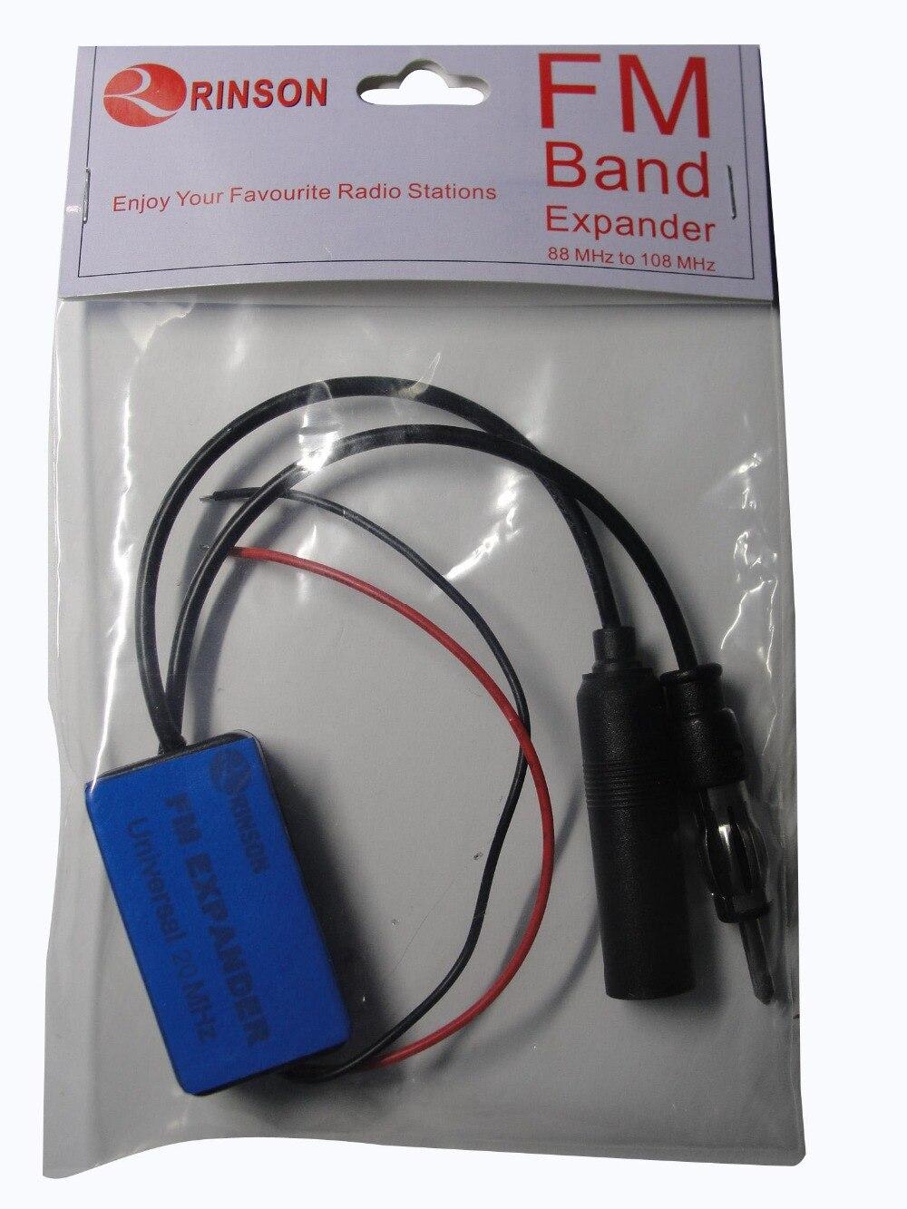 Купить с кэшбэком 20MHz Car Cassette Player Radio FM Converter FM Band EXpander Frequency Converter Universal