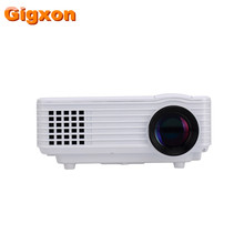 Gigxon-G805A multimedia proyector portátil LED 800 lúmenes de la lámpara de ultra corto alcance proyector mini Android