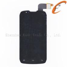 S4502 dokunmatik ekran digitizer + lcd ekran DNS S4502 DNS S4502 S4502M Highscreen artırmak Cloudfone Thrill430X innos D9 D9C