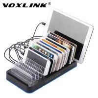 Voxlink Smart 15 Порты и разъёмы зарядка через USB док станция 80 Вт 16a Универсальный USB быстро Зарядное устройство Кабельный организатор для смартфон