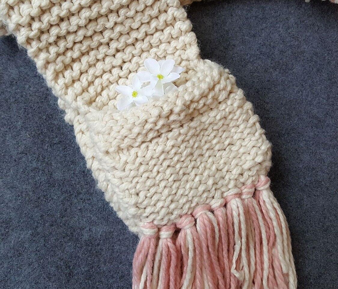 De moda de 3 10 años niñas unicornio hecho a mano bufanda chico ...