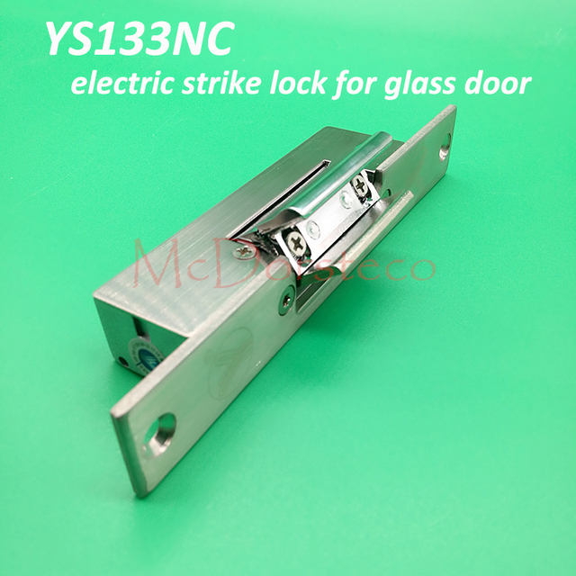 10pcs Yli Best Quality Fail Safe Electric Strike Lock Suitable For Glass Door Ys 133nc