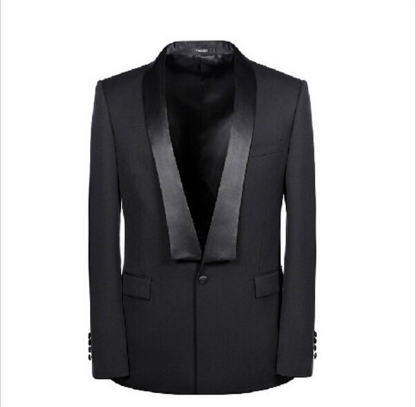US $51 1 21% OFF|The groom wedding suit dress business men's leisure  cultivate one's morality type suit (jacket and pants)-in Suits from Men's