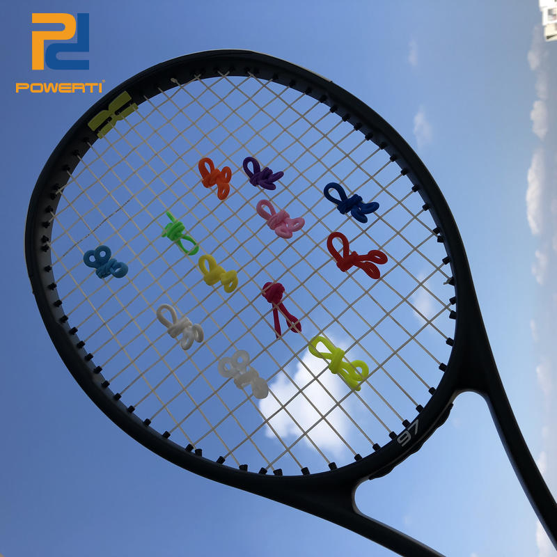 Free Shipping New Arrival 5 Pcs/pack - POWERTI Tennis Racket Vibration Knot , Vibration Dampener, New Tennis Knot