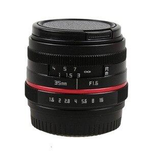 Image 2 - 50mm f/1.8 APS C F1.8 Dellobiettivo di macchina fotografica per Olympus Panasonic M4/3 M43 MFT EP5 OMD EM5 e M1 E M1 Mark II E M5 E M5 Mirrorless Camera