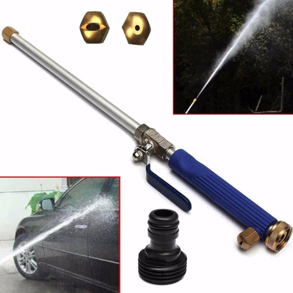High Pressure Car Washer Sprayer Cleaner Garden watering Nozzle Water Gun Hose +2x Spray Tips for car maintance car wash garden watering garden hose 15 meter