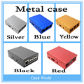 5 Colores Raspberry Pi 2 caso Ultrafino de Aluminio del Metal!! alta Calidad!! buen precio!! para Raspberry Pi 2 & B más