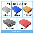 5 Cores Raspberry Pi 2 caixa De Alumínio De Metal-Ultrafinos!! alta Qualidade!! bom preço!! para Raspberry Pi 2 & B mais
