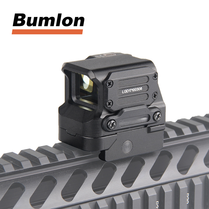 FC1 2MOA Red Dot Sight Scope Collimated Prismatic Reflex  Sight fit 20mm Rail for Hunting Airsoft HT5-0041 винтовочный оптический прицел rilong 1 x 25 dot compactriflescope t1 20 ht5 0021 t1 scope