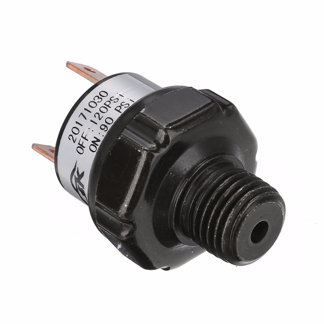 90-120 PSI 1/4 NPT End Air Compressor Pressure Switch Heavy Duty 12V Control Switch Valve For Air Compressor Mayitr Brand New heavy duty air compressor pressure control switch valve 90 120psi 12 bar 20a ac220v 4 port 12 5 x 8 x 5cm promotion price