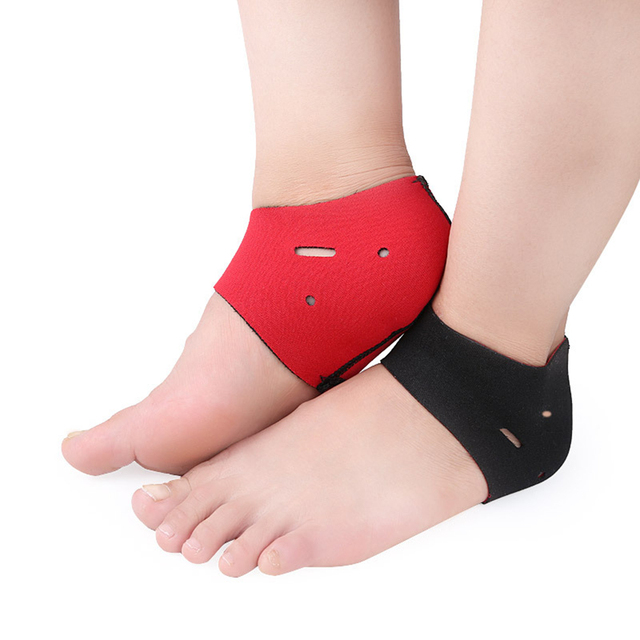6914fd6021 ETEREAUTY 2Pcs Plantar Fasciitis Therapy Wrap Heel Foot Pain Arch Support  Ankle Brace Heel Warm Protector Insole Orthotic