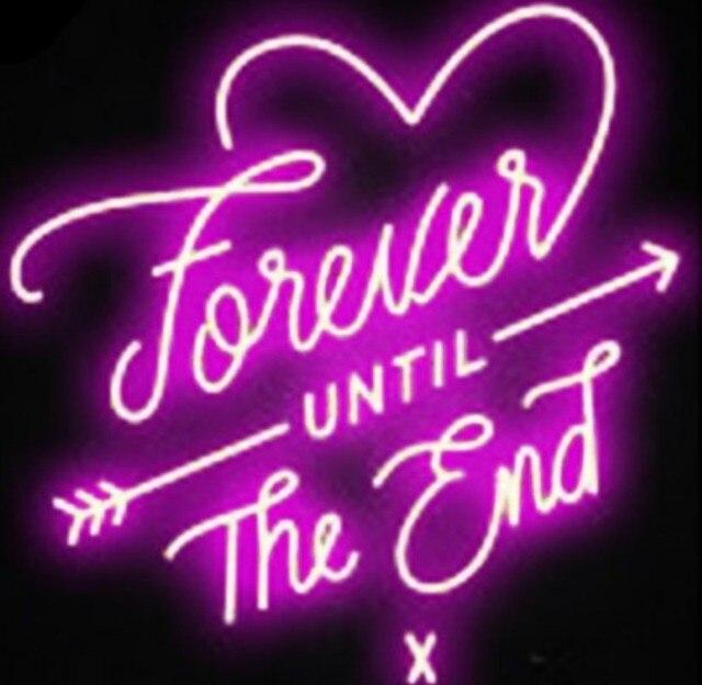 Custom Love Forever Neon Light Sign Beer Bar