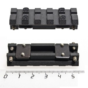 Image 2 - IZH 27 / MP 153 / MP 155 / MP 233 / TOZ 120 / MTs21 12 / TOZ 84 ventilated rib rail Weaver Picatinny mount Black