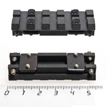 IZH-27/TOZ-34 mini/MP-153/MP-155/MP-233/TOZ-120/MTs21-12/TOZ-84 ventilé nervure rail Weaver-Picatinny Noir