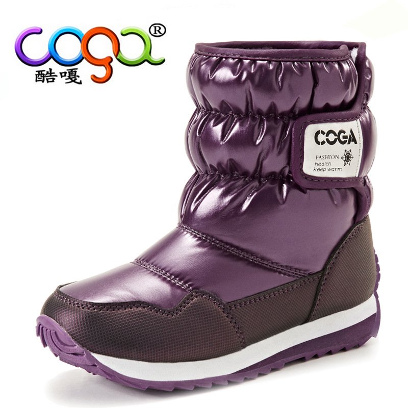 Short-Boot-Kid-Casual-Shoes-Boys-Girls-Winter-Boots-Snow-Printing-Warm-Botte-Enfant-FIlle-Black-Purple-Pink-Children-Flats-26-38-3