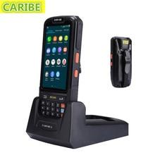4.0inch bluetooth IPS screen 1D barcode scanner smartphone