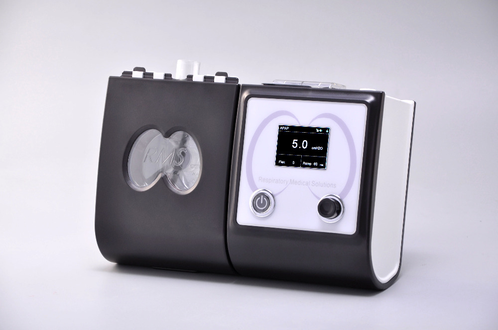 Auto Máquina de CPAP Com Máscara de CPAP Umidificador Filtro Mangueira Saco Aparelho de Respiração Respirador Portátil Para Apnéia Do Sono Ronco APAP