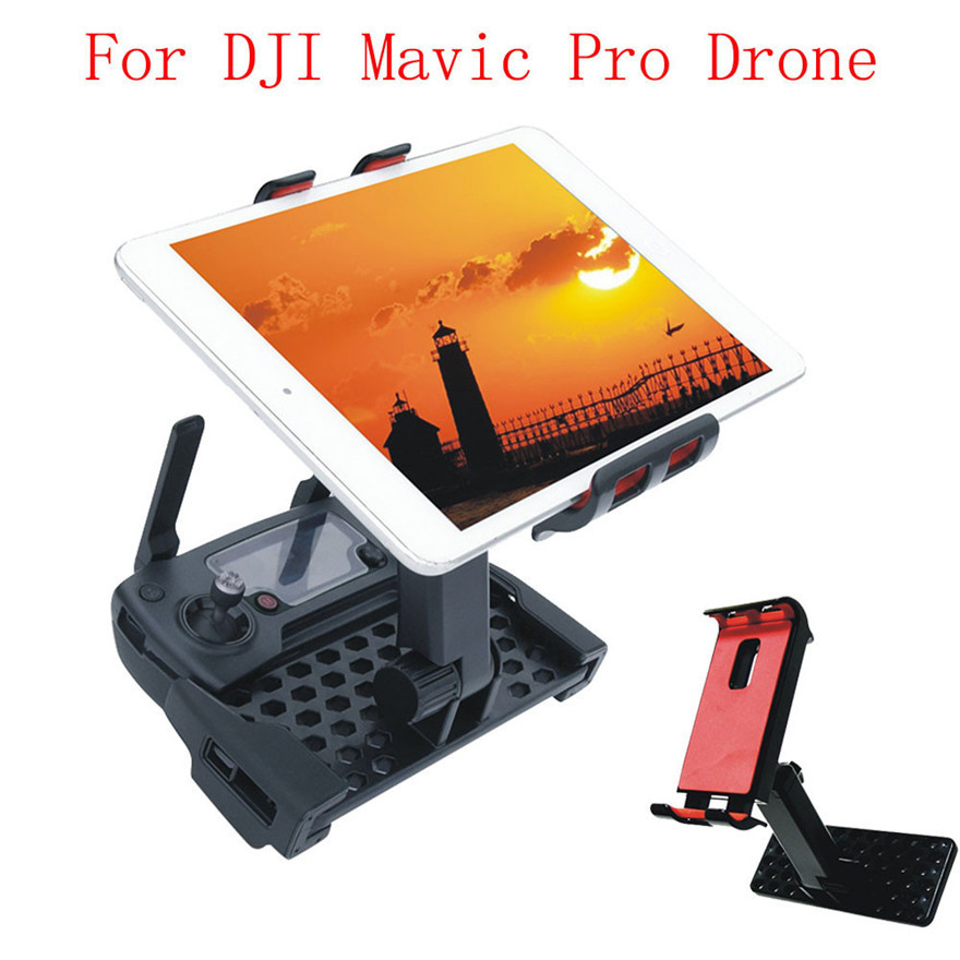 Mobile Phone Flat Bracket 4-12 Inch Holder Parts for DJI Mavic Pro Remote Control Drone Toys Accessories