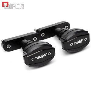 Image 3 - Высококачественные слайдеры рамы с ЧПУ мотоцикла, защита от ударов, защита от падения Для KTM Duke 125 200 390 Duke