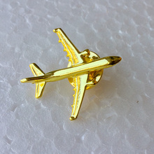 Airbus Badge A 321, Metal, Silver,Plane Shape Brooch, Special Personality Gift Souvenir for Filght Crew Pilot Avaiton Lover