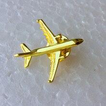 Airbus Badge EEN 321, Metaal, Zilver, Vliegtuig Vorm Broche, speciale Persoonlijkheid Gift Souvenir voor Filght Crew Pilot Avaiton Lover